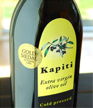 Kapiti Olive Oil bottle